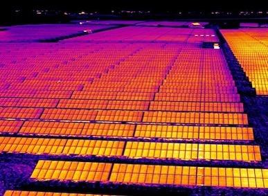 termografía dron solar fotovoltaica